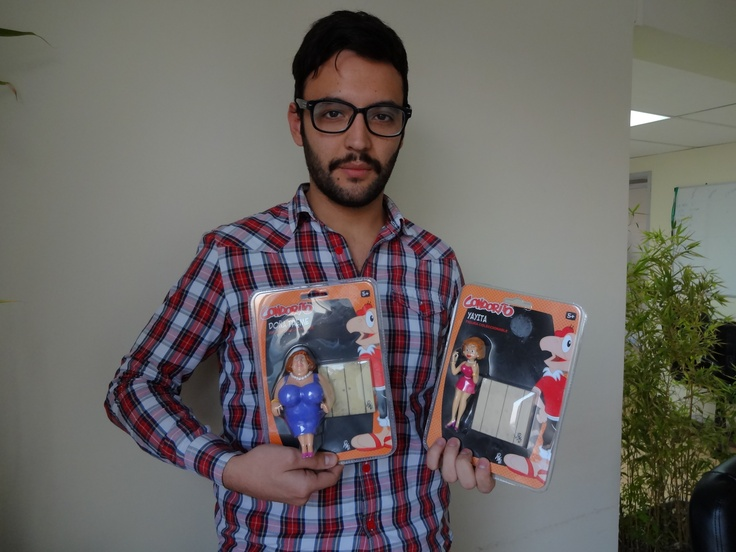 ¡Por fin! @ElGuille__ recibió su regalo ahora tiene a su propia Yayita. Plop!