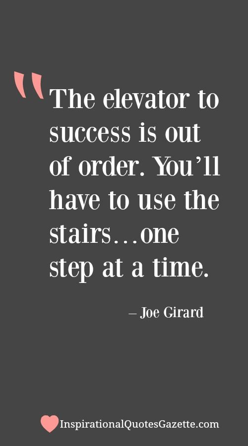 Inspirational Quote about Success - Visit us at InspirationalQuotesGazette.com for the best inspirational quotes!