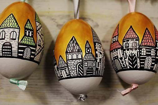 maramanufaktura /  husacie vajíčka - zlatá ulička
