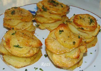 Rozi erdélyi,székely konyhája: Leveles krumpli (pityóka)
