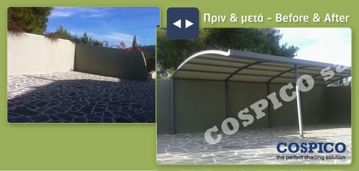 Προστατέψτε το αυτοκίνητο από τον ήλιο, τη βροχή και το χιόνι. Καλύψεις γκαράζ http://bit.ly/1Oet2sj