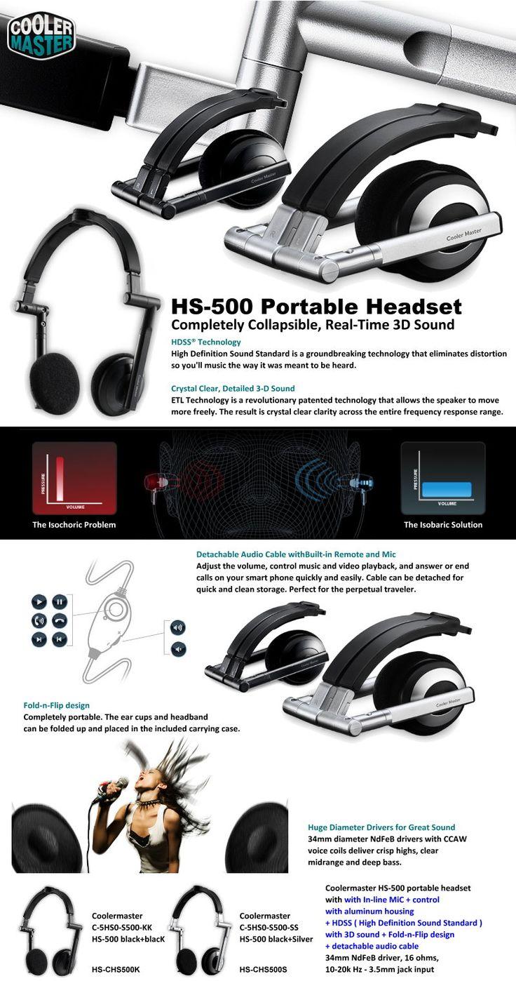 HS-500 Portable Headset