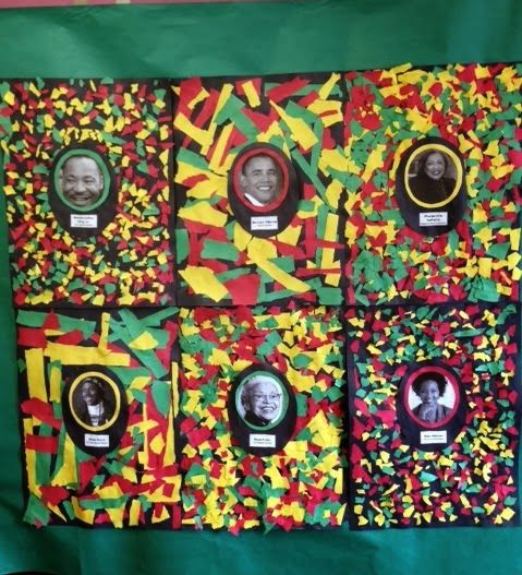 The 269 best images about black history month on pinterest for Black history month craft