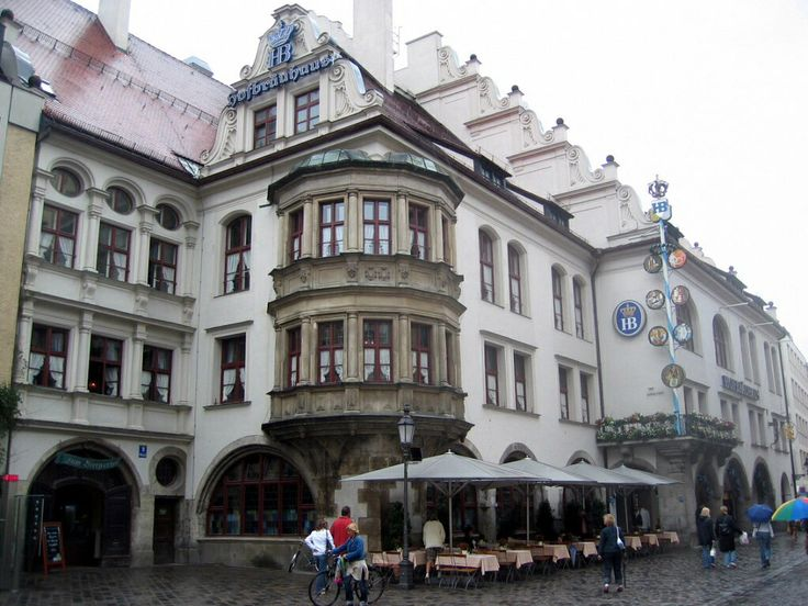 Haufbrauhaus Munich Germany... take me away... I want to be back there eating a pork knuckle and listening to men in leiderhosen play um pa pa music :-)