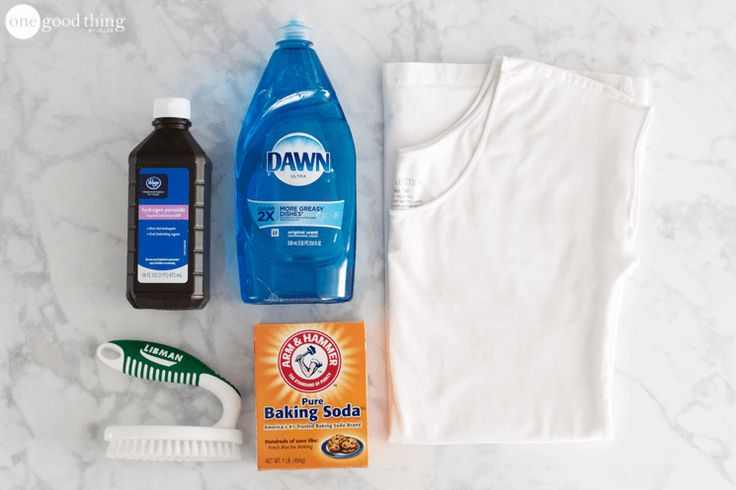 How To Remove Sweat Stains The Easy Way