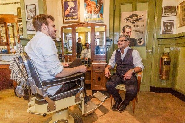 Manners bij New York Barbershop #Manners #MannersNL #NewYorkBarberShop #Rotterdam #herenkapsels #baarden #haartrends