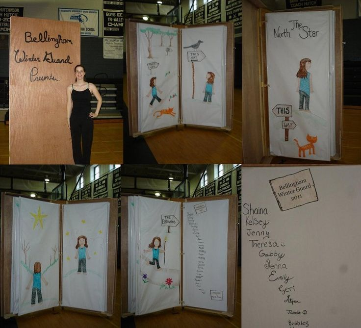How to make a giant book prop
