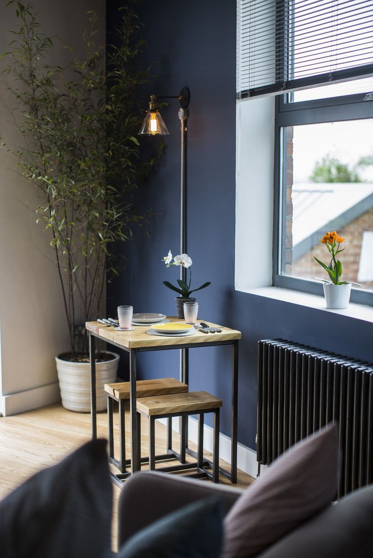The Perfect spot for lunch or working on the laptop, overlooking the river.  The River Loft  https://www.airbnb.co.uk/rooms/6347144