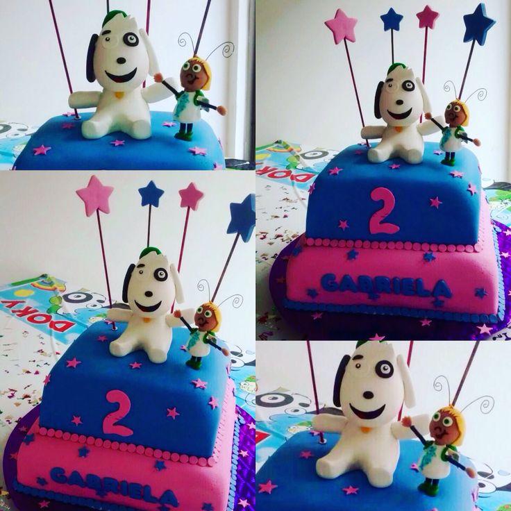 Torta Cumpleaños Doki.  Tata-Sabores Tortas y Postres