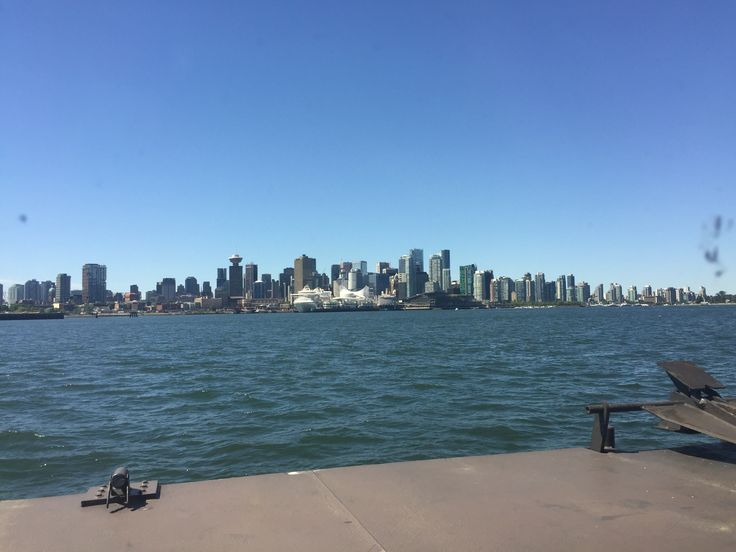 Downtown Vancouver, from Seabus.