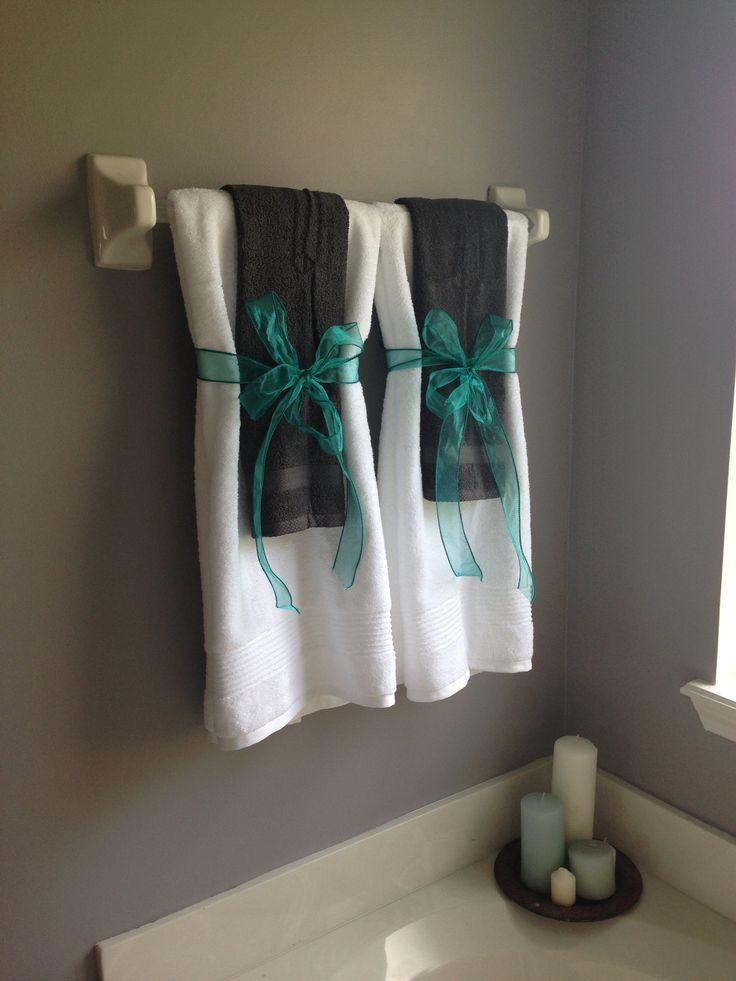 The 25+ Best Bathroom Towel Display Ideas On Pinterest | Towel Display,  Decorative Bathroom Towels And Folding Bathroom Towels