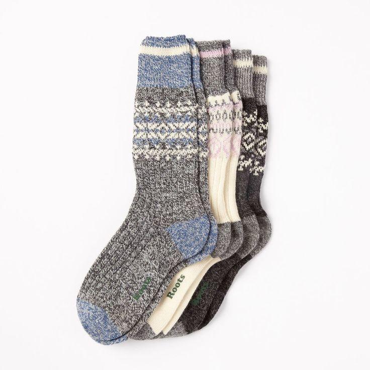 nullWomens Liza Cabin Socks 3 Pack