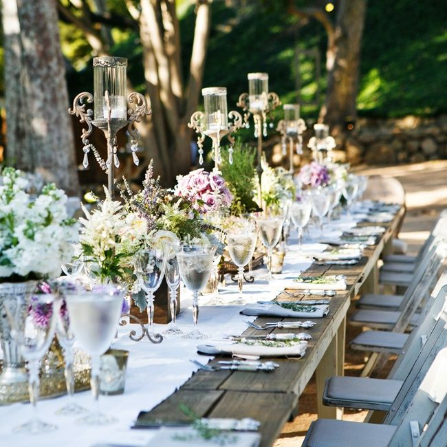 Charming Outdoor Table Decor // Rob Greer Photography