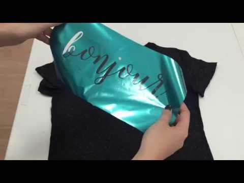 This video will show you how to cut and press a two color shirt using Siser EasyWeed and Siser Glitter heat transfer vinyl. Settings : Siser EasyWeed -Blade ...