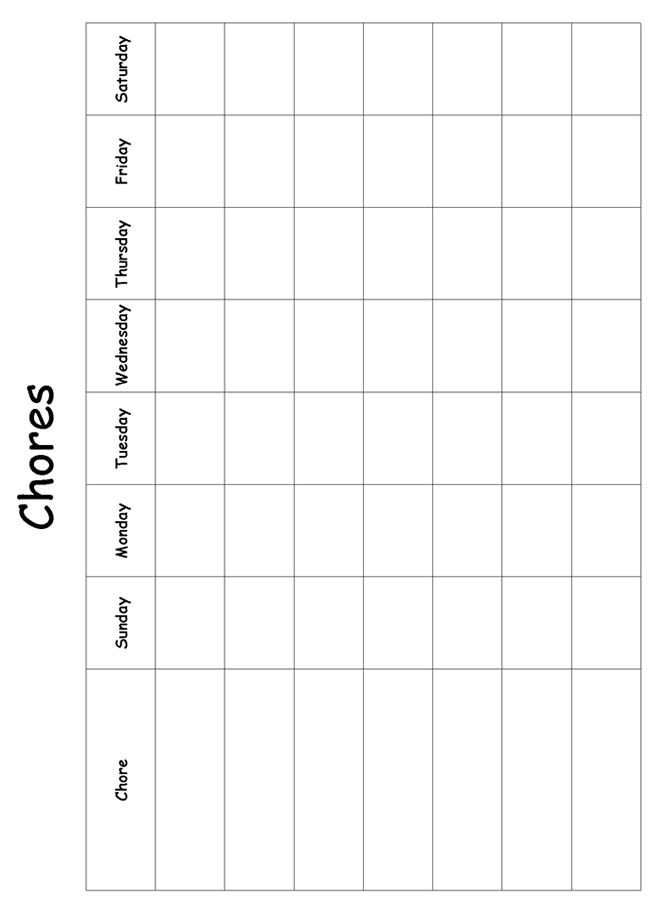 Chore Charts Homeschool And Charts On Pinterest