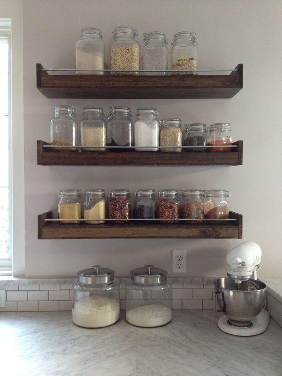 Best 25+ Spice racks ideas on Pinterest Kitchen spice racks - kitchen shelving ideas
