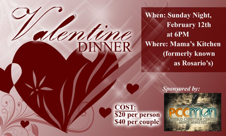 Christian valentines banquet couples date night for Valentine day ideas for couples