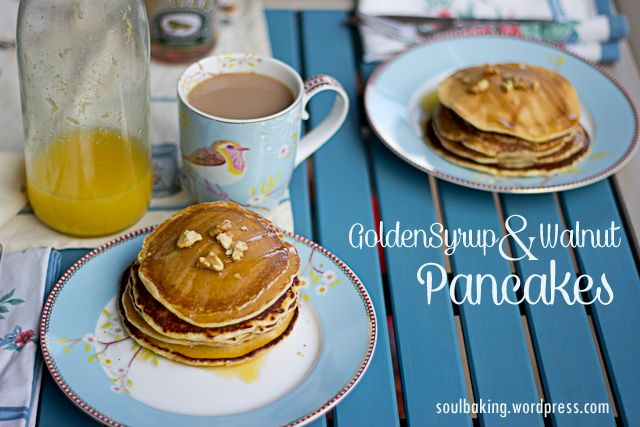 Lazy Sundays need pancakes! www.soulbaking.wordpress.com