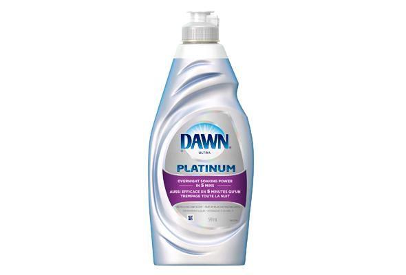 Dawn Platinum Refreshing Rain Scent Dishwashing Liquid 591 mL