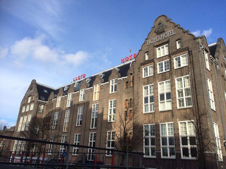 Lloyd hotel Amsterdam.