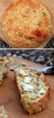 Upečte si domácí chléb s bazalkou