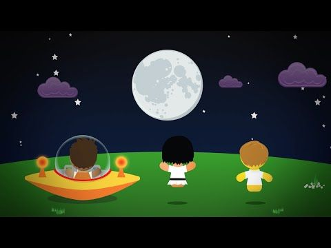 Moon Phases -Why Moon Changes Shapes -Preschoolers,Kindergarten and Toddlers - YouTube