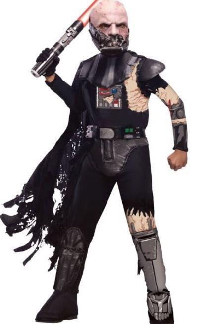 New Boys Halloween Costume Star Wars Darth Vader size S (4-6) #Rubies #jumpsuit