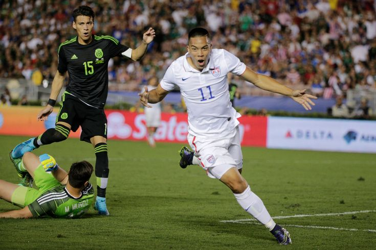 Photo              Bobby Wood (11) reacting after scoring a goal against Mexico in a Concacaf playoff game in the Rose Bowl in 2015. The United States and Mexico, long rivals on the field, seem likely to join forces with Canada in a bid for the 2026 World Cup.                                ...  http://usa.swengen.com/u-s-mexico-and-canada-likely-to-affirm-joint-world-cup-bid/