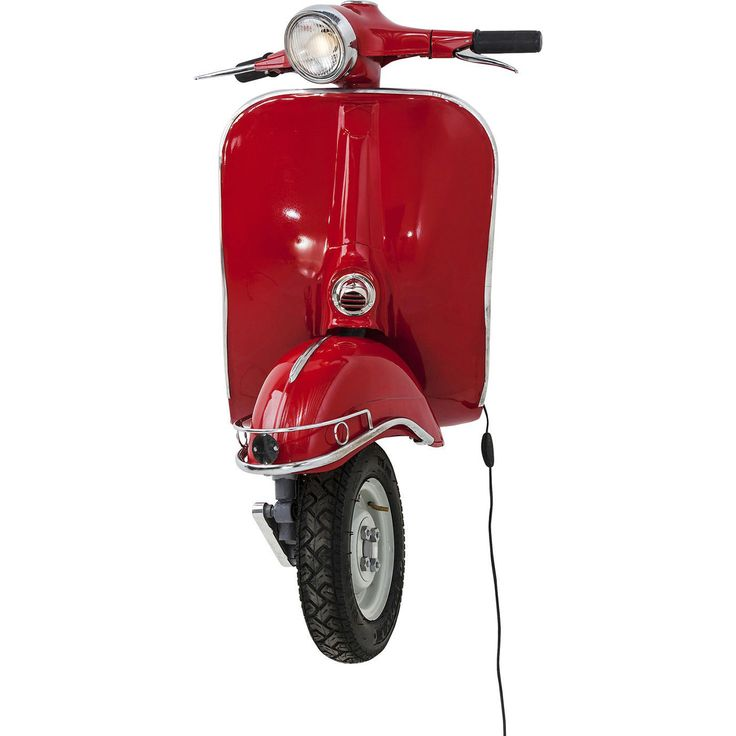 KARE Design Scooter Red Big Wall Lamp