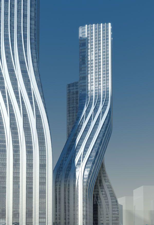 Signature Towers, Dubai by Zaha Hadid