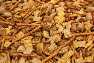 Favorite Chex Mix - Made w/ BACON GREASE!