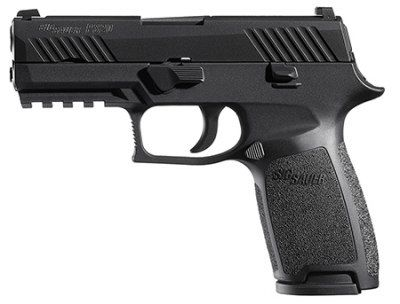 Sig Sauer 320CA-9-BSS P320 Carry Pistol 9mm 3.9in 17rd Black Night Sights for sale at Tombstone Tactical.