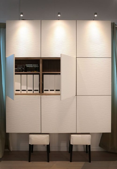 4. Storage, Pax wardrobe and Besta storage system – Laetitia Rijckmans-Roekens