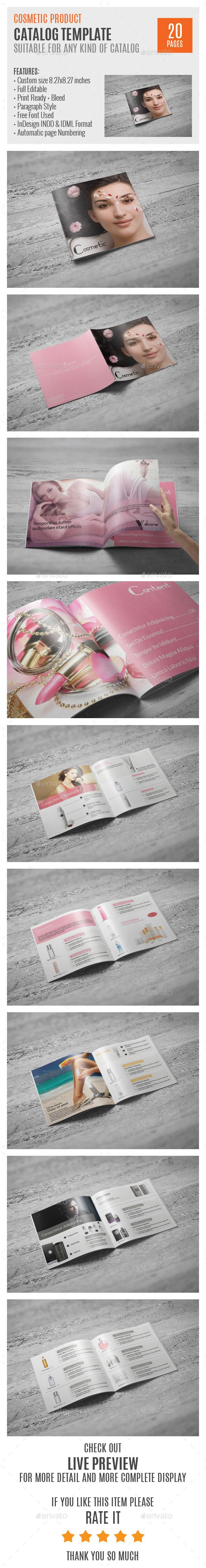 Cosmetic Square Indesign Catalog Template. Download: http://graphicriver.net/item/cosmetic-square-indesign-catalog-template/9725494?ref=ksioks