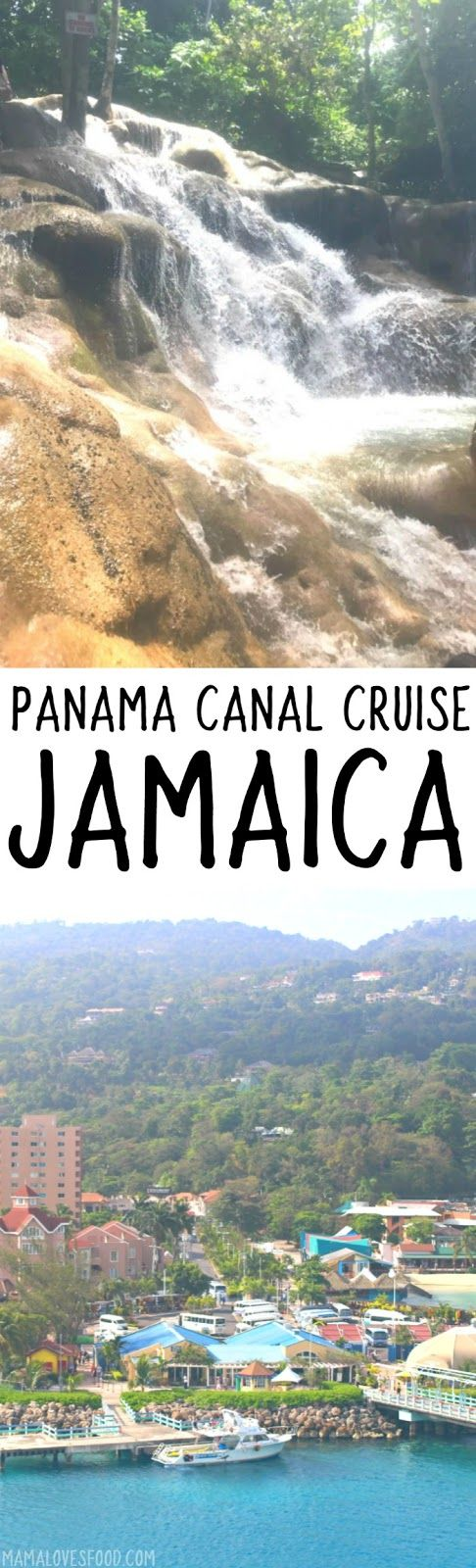 Visiting Ocho Rios Jamaica - Ten Day Cruise through the Panama Canal