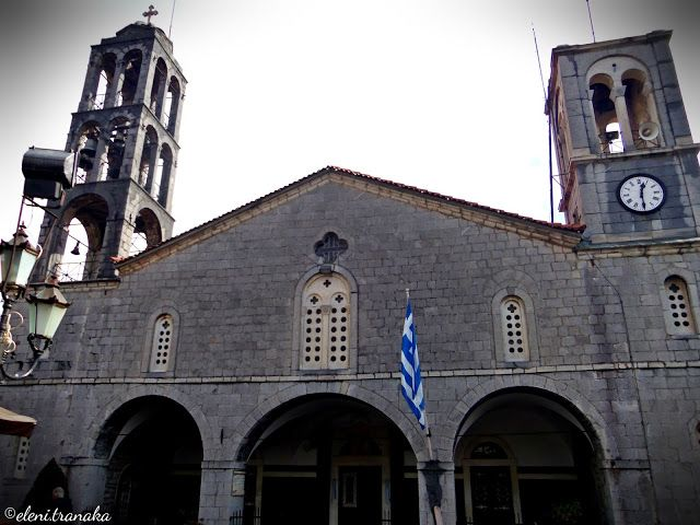 Ελένη Τράνακα: Ι. Ναός του Αγίου Τρύφωνα, Βυτίνα Αρκαδίας / Church of Saint Tryphon, Vytina Arcadia
