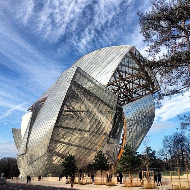 Fondation Louis Vuitton in Paris, Île-de-France