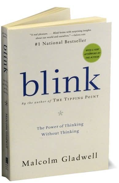 """essay book blink Blink: the power of thinking without thinking is a book written by malcolm  gladwell this book introduces the concept of """"thin slicing."""