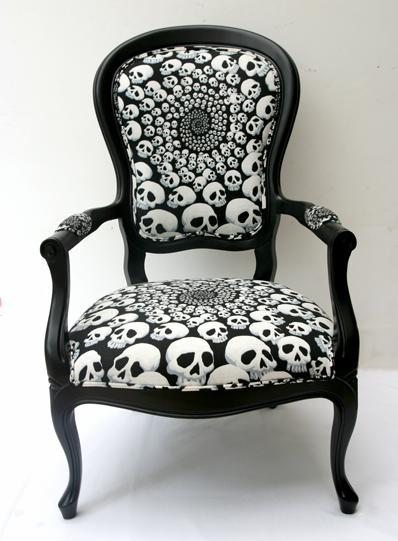 Skull chair freaking love!
