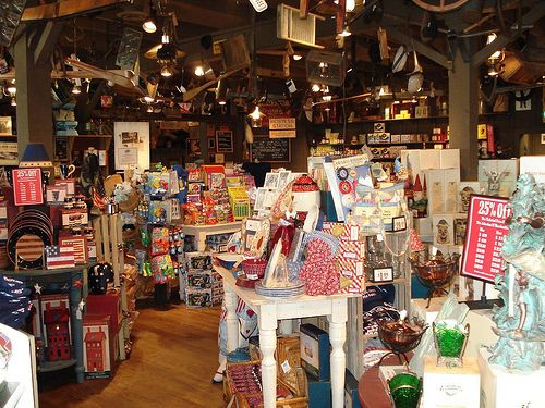 cracker barrel  | The gift shop at Cracker Barrel. As you can see it already looks like ...
