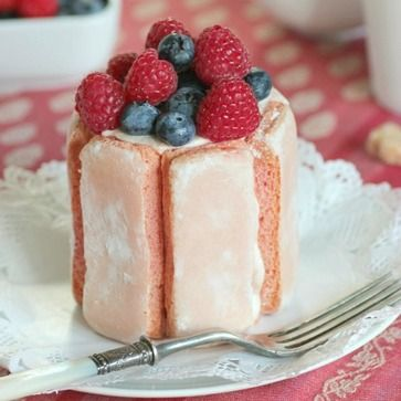 Julia Child's recipe for Charlotte Chantilly aux Fraises -- and a book giveaway!