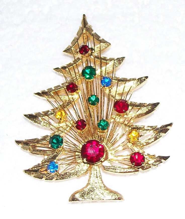 51 best christmas tree pin brooches images on pinterest for Weihnachtsbaum antik