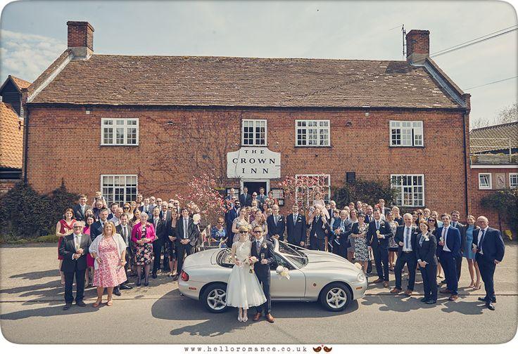 Wedding Group at Westleton Crown - www.helloromance.co.uk