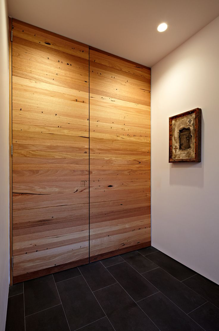 Recycled Timber Wall Hidden Door Carpentry Build