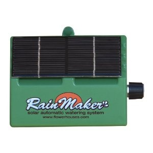 Solar drip irrigation pump for the rainbarrels?!? With a timer ?!? Makes my life SO much easier!!