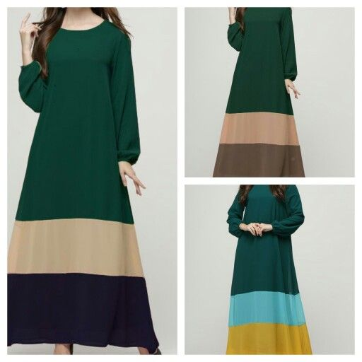 Trio color jubah Size m l xl Pm at top mms/whatspp +6018 263 7833