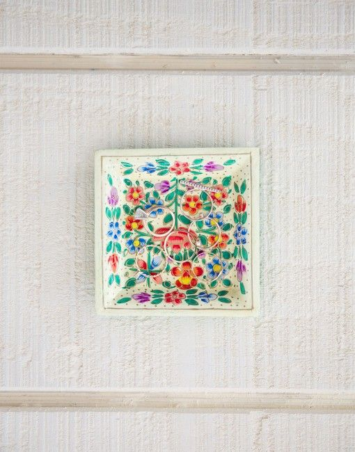 Our Hand Painted Tray from Kashmir featured on Lauren Conrad's Friday Favorites!