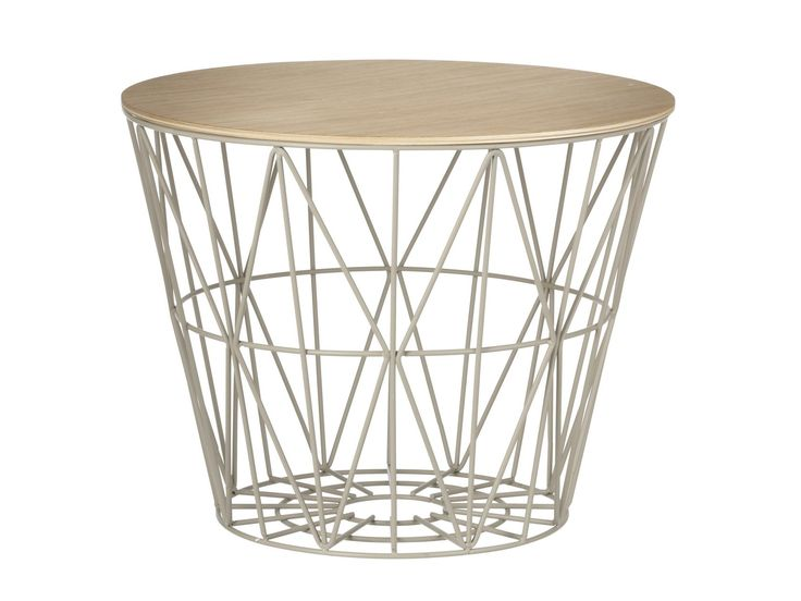 WIRE BASKET Coffee table by ferm LIVING