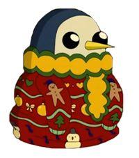 Adventure Time Gunter Christmas Sweater