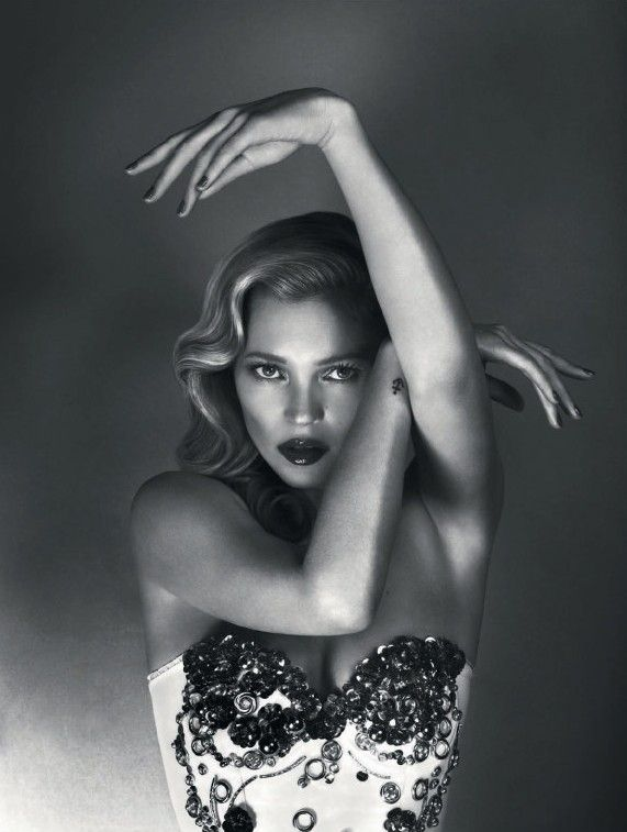 Kate Moss by Mert & Marcus | Mighty Aphrodite